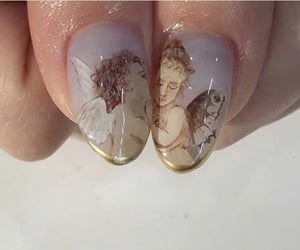 angel, angels, and butterfly wings image