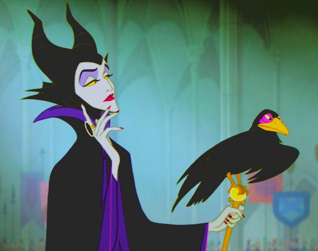 maleficent, disney, and movie image