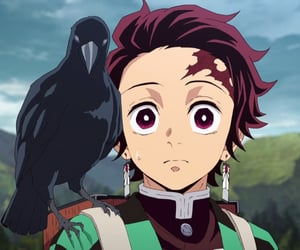 anime, kimetsu no yaiba, and tanjiro image