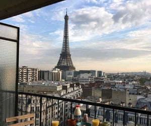 paris, view, and aesthetic image