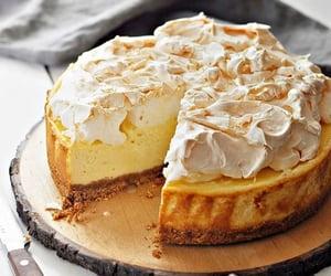cake, food, and meringue image
