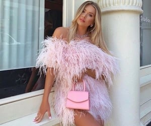 candy, fashion, and feathers image