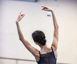 arms, ballerina, and ballet image