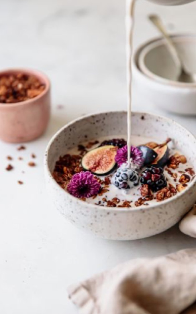 Image de breakfast, grains, and milk
