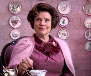 harry potter, cats, and dolores umbridge image