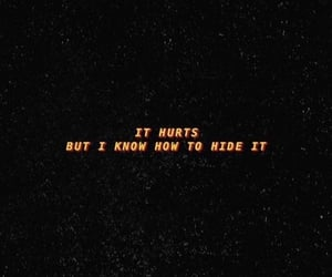 quotes, hide, and hurts image