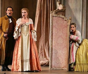 acting, costumes, and Mozart image