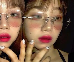 beauty, korean, and makeup image
