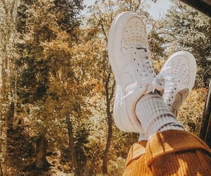 shoes, autumn, and fall image