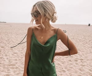 blonde, dress, and summer image
