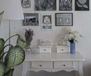 aesthetic, artsy room, and art image