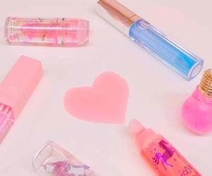 lip gloss, unicorn, and pastel image
