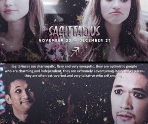 aesthetic, Sagittarius, and horoscopes image