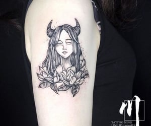 tattoo, tatuagem, and touro image