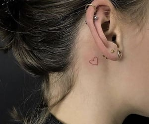heart, tatuagem, and coraçao image
