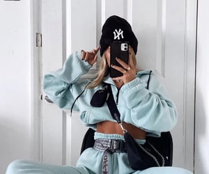 off white and sweatpants image