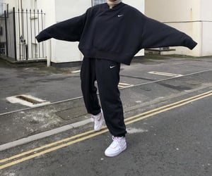 black, streetwear, and style image