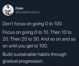 focus, progression, and god image
