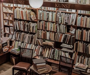 books, library, and books lover image