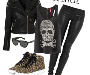 clothe, look, and Polyvore image