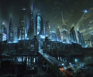 city, movie, and maze-runner image