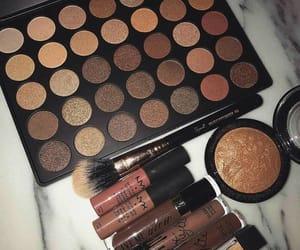 makeup, beauty, and NYX image