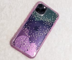 cases, glitter, and glittery image