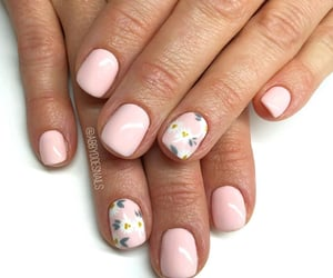 nail design, სიყვარული, and spring image