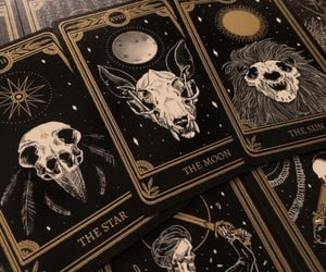 cards, wicca, and tarot image