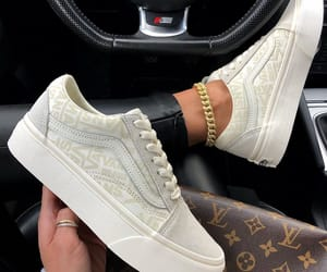 sneakers, fashion, and vans image