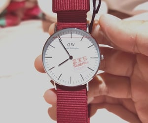 tumblr, daniel wellington, and watch image