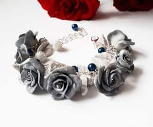 charm bracelet, wedding bracelet, and bridalbracelet image