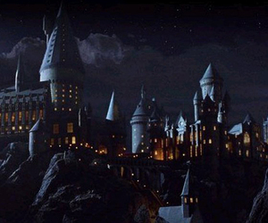 hogwarts and harry potter image