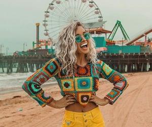 boho, beauty, and fashion image
