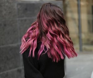 aesthetic, color, and dyed hair image