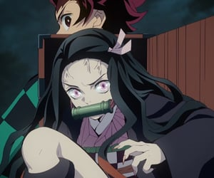 anime, kimetsu no yaiba, and nezuko image