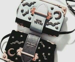 bags, blue, and Prada image
