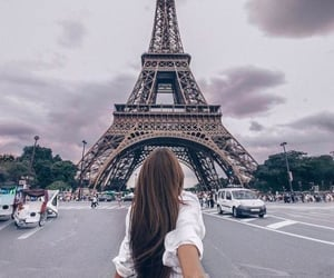 paris, girl, and couple image