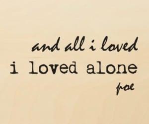 Edgar Allen Poe, poet, and quote image