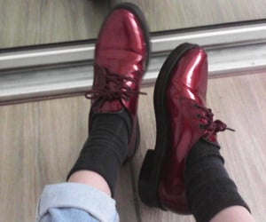 shoes, red, and socks image