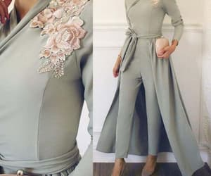jumpsuit for women, pant suit for weddings, and embroidery applique image