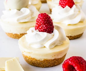 cheesecake, food, and desserts image