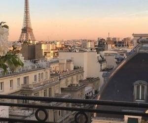sky, architecture, and paris image