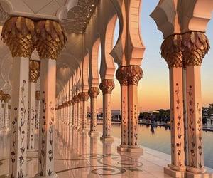 abu dhabi, adventure, and architecture image
