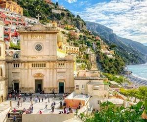 Amalfi, italy, and sea image