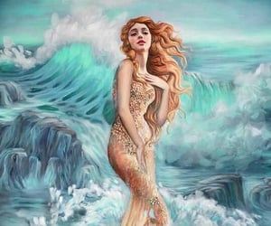 aphrodite, nature, and art image