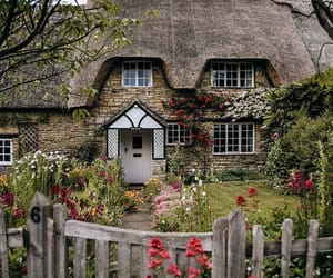 bucolic, cottage, and countryside image
