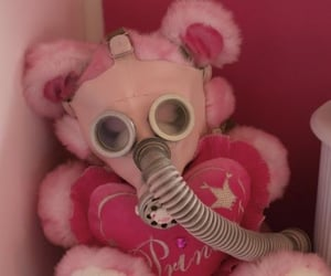 pink and teddy bear image