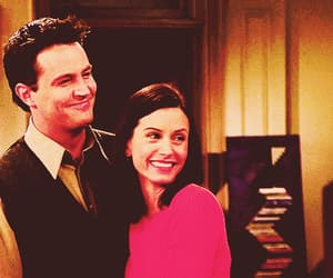 chandler, monica, and too cute image