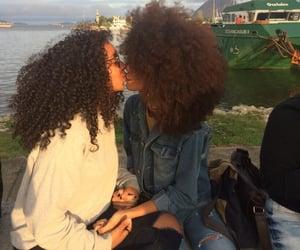 lesbian, gay, and kiss image
